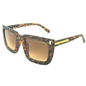 Óculos Feminino Prada De Ónça Modelo Grande Frete Grátis 0e4bed819a