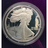 Moneda De $1 Dolar En Plata