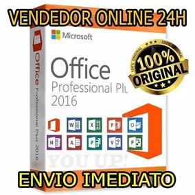 Microsoft Office 2016 Pro Plus Licença Vitalicia 25 Digitos