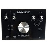 M-audio Mtrack 2x2m Placa De Audio Interfaz Midi Usb 2in/out