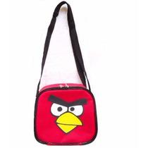 Lancheira Angry Birds Termica Infantil Escolar Passeio