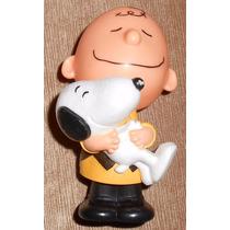 Figuras De Snoopy Y Charlie Brown De Coleccion $100 C/u