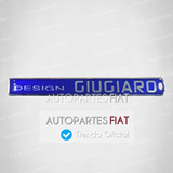 Sigla Adhesiva Giugaro Fiat Punto Original®