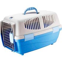 Caixa Transporte Pet Gulliver N3 Azul Cão Gato Oferta