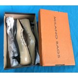 Zapatos Para Mujer Milano Bags Cuero Original 37 En Caja