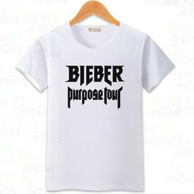 Poleras Estampadas Justin Bieber (purpose Tour)