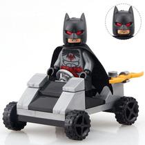 Batman Coche Doble Cara Compatible Con Lego