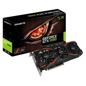 Placa De Vídeo Nvidia Gigabyte Gtx 1080 8gb Windforce