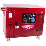 Gerador De Energia Gasolina 7,5 Kva Silenciado P Elétrica