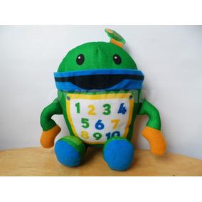 Peluche Bot Equipo Umizoomi 21 Cm Con Detalle Lee Desc Ca17