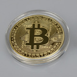 Moneda De Coleccion Bitcoin