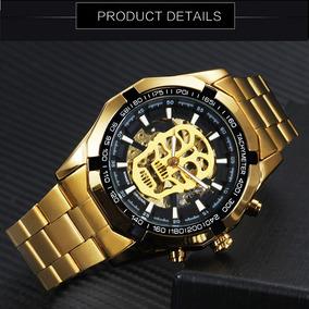 Relógio Caveira T-winner Grandmeister Skull Watch Waterproof