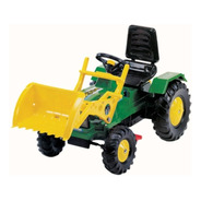 Tractor A Pedal Y Cadena Farmer C/ Pala 3 A 6 Años Biemme