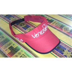 Visera Gorra Venezuela, Excelente Calidad Turismo, Roja