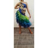Vestido De Danza- Salsa Rumba Y Demas