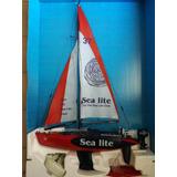 Sea Lite Velero Rc Control Remoto Escala 1:25 50mts Alcance