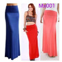 Maxi Faldas Largas Crop Top Vestidos
