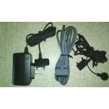 Cable Usb, Cargador Y Manos Libres Para Celular Sony Ericsso