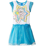 Vestido De Elsa De Frozen Original Disney Disfraz