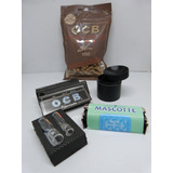 Kit Grinder Concavo+ 5cajasocb +maquina+boquilla+filtros Ocb