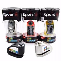 Trava Disco Moto Com Alarme Kovix Kd6 Várias Cores Estoque