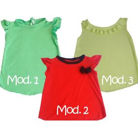 Blusas Para Bebes Y Niñas Estampados Y Unicolor Conjuntos