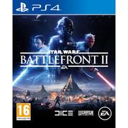 Star Wars Battlefront Ii Juego Ps4 Físico