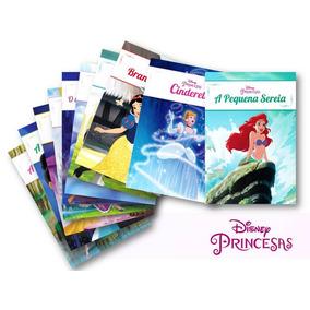 Coleção Disney Princesas - Inclui 10 Livros De Histórias
