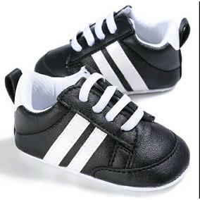 Tenis Niño Calzado Bebé Blanco/negro Talla 11 12 13