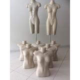 Lote Manequins Meio Corpo E Busto Femininos