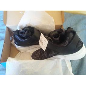 Zapatillas Adidas Original Botitas  Blancas Con Azul Y  Botitas Rojo  Color ad27b6