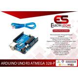 Arduino Uno R3 Dip Generico + Cable Usb