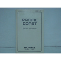 Manual Honda Pacific Coast Pc800 1989 - Changoosx