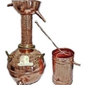 Alambique Em Cobre 30 Litros Destilador De Cachaça