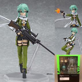 Asada Shino Pronta Entrega Ggo Sword Art Online Action Figur