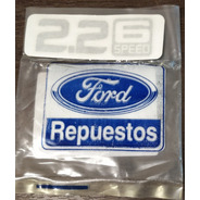 Calco Emblema Insignia Ranger 2.2 6 Speed Xl Legitimo Ford