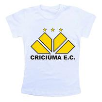 Camiseta Infantil Futebol Criciuma Cb158