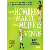 Libro Los Hombres Son De Marte, Las Mujeres Son De Venus