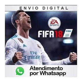 Fifa 18 Ps3 Psn Dublado Pt-br Original Completo Receba Já!