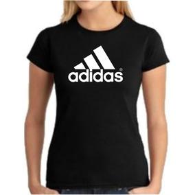 1dd0f8b7b6880 Camiseta Baby Look Adidas Originals Feminina Trefoil - Camisetas no ...