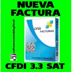 Nueva Factura Electronica Cfdi 3.3 Sat
