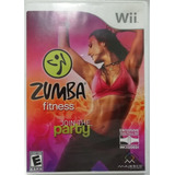 Zumba Fitness Join The Party Juego Para Nintendo Wii