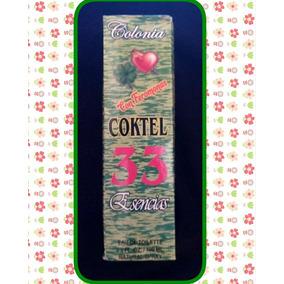 Colonia Coktel 33 Esencias De 100 Ml