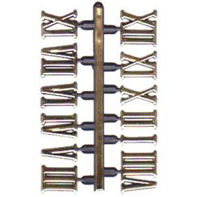 Números Romano Dourado Para Relógio Grande 1,5 Cm