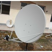 Antena Ku 90 Cm Completa