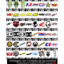 Adesivos - Monster Alpinestar Dc Ama Red Bull The Doctor 46
