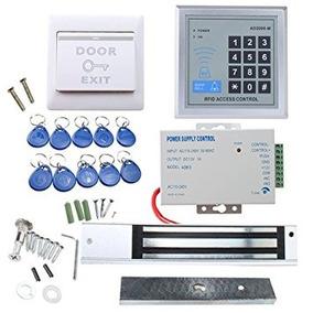 Sistema Seguridad Rfid Puerta Acceso Control Sistema Kit Agp