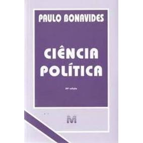 Livro Ciência Política - 24 Edição Paulo Bonavides