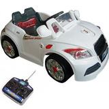 Mini Veículo Audi 2x1 Elétrico Som Farol Ipod Mp3 Bel 924700