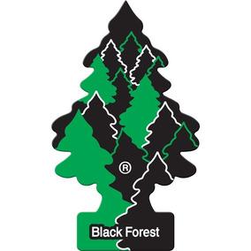 Kit 10 Little Trees New Car Black Forest Ocean Mist Original